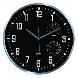Horloge thermo-hygro Ø30