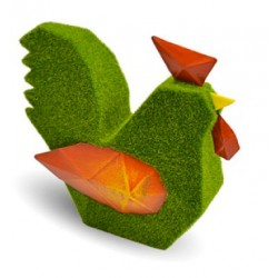Décoration Origami Merlok