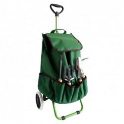 Chariot de jardin avec 4 outils