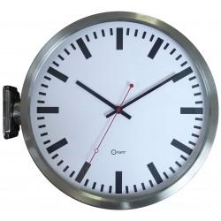 Horloge gare double