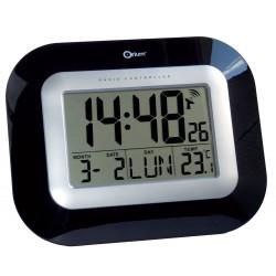 Horloge RC digitale laquée DCF