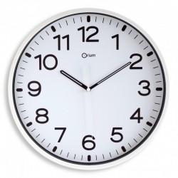 Horloge silencieuse Ø30 blanc