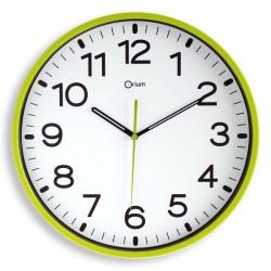 Horloge silencieuse Ø30 anis