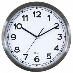 Horloge basique en métal Ø34