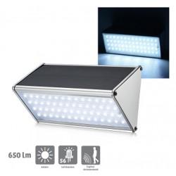 Applique solaire 650 lumens Constance avec détection