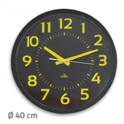 Horloge Contraste silencieuse Ø40