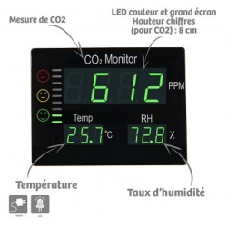 Mesureur de CO2 Master
