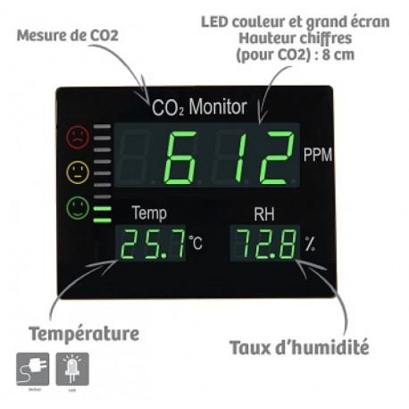 Mesureur de CO2 Master