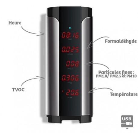 Mesureur qualité de l'air Complet Tower