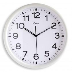 Horloge standard blanc Ø30