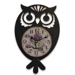 Horloge Chouette à balancier
