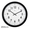 Horloge géante silencieuse Imperia Ø55cm - noir