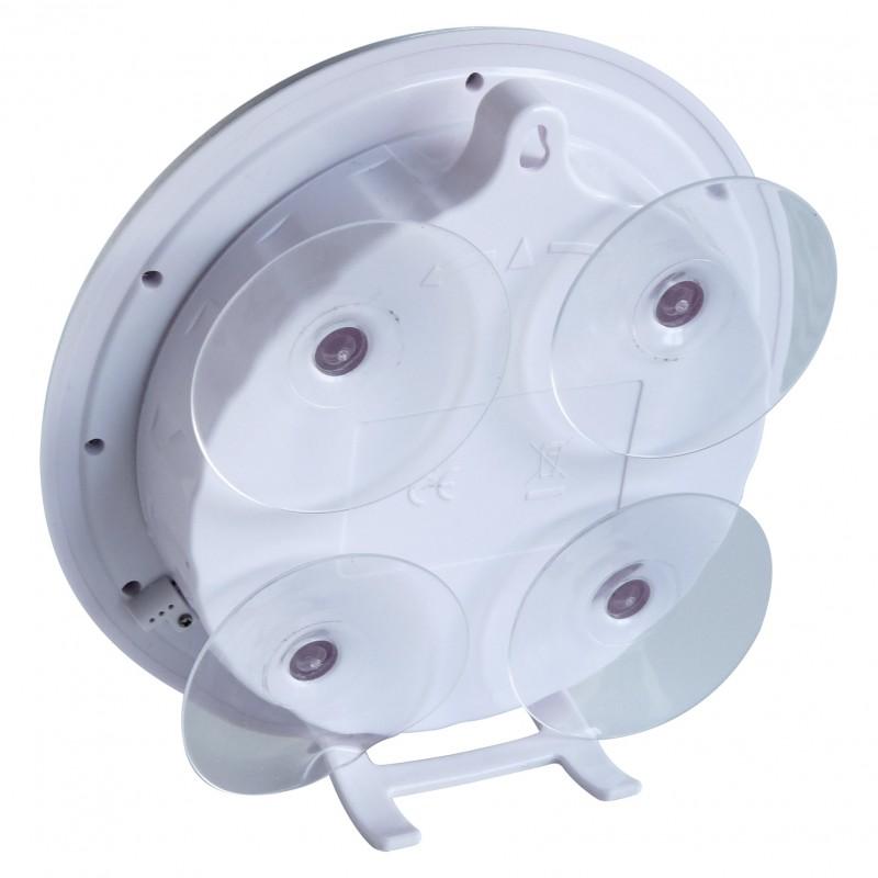 Horloge tanche rc 17 - Horloge de salle de bain ventouse ...