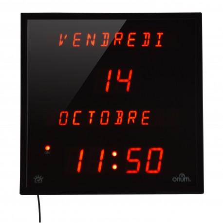 Horloge à date multi-langues