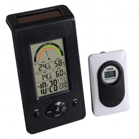 Thermo-hygro solaire digital