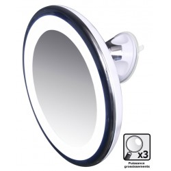 Miroir grossissant LED tactile