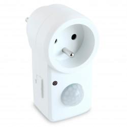 Prise électrique détecteur de mouvement