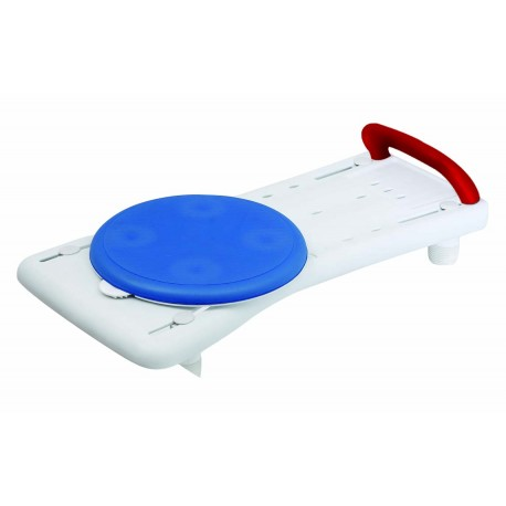 Planche de bain siège rotatif