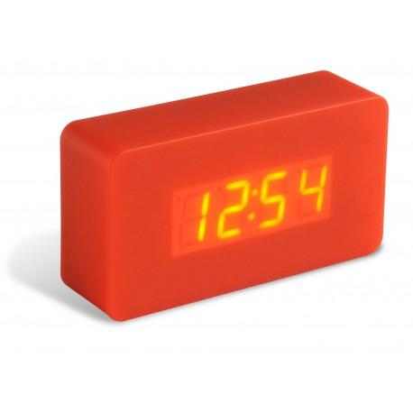 Réveil LED Gummy rouge