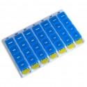 Pilulier hebdo 4 compartiments