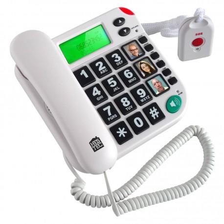 Téléphone et télécommande SOS