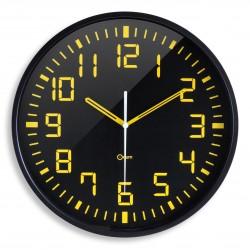 Horloge silencieuse contraste