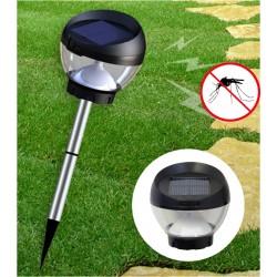 Borne anti-moustique solaire