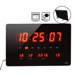 Horloge à Led rouge Chronos