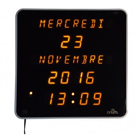 Horloge Éphéméris Jaune DST