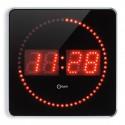 Horloge à LED Studio Alu 2 en 1